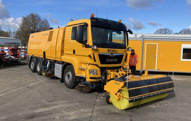 MAN TGS 26.430 BL 6x2-4 Veegwagen